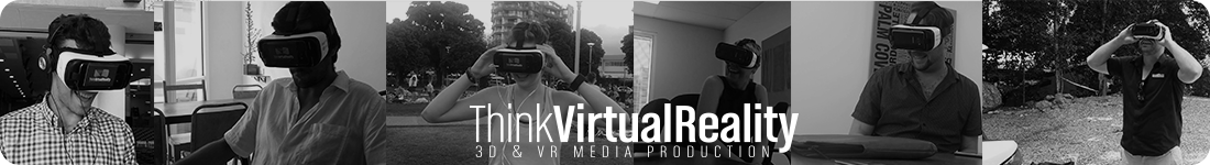Think Virtual Reality Cairns Banner