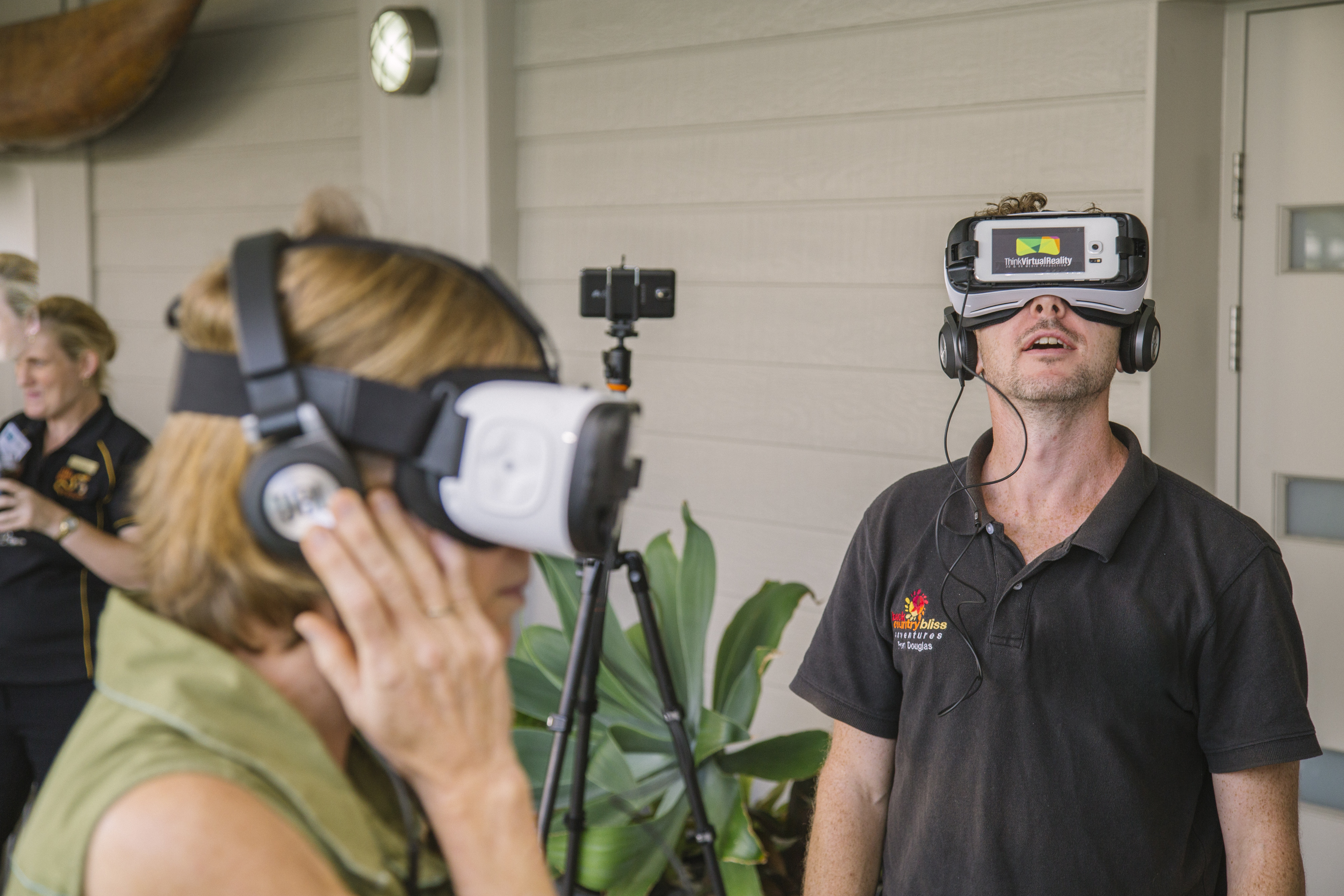 Think Virual Reality Study Cairns Launch Event